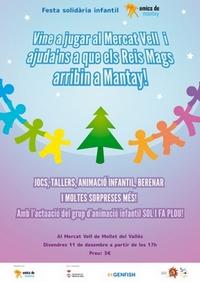 Fiesta solidária de Amics de Mantay